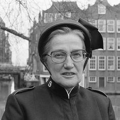 Amsterdam, portret majoor Bosshardt , 1978