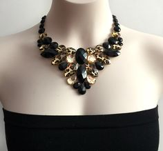 A personal favorite from my Etsy shop https://www.etsy.com/listing/263761415/bib-leopard-necklace