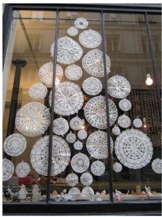 Árvore de Natal em papel