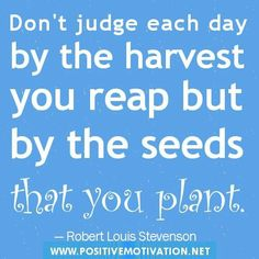 Start planting now