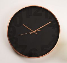 Balaclava Copper Wall Clock – Finders Keepers Gifts