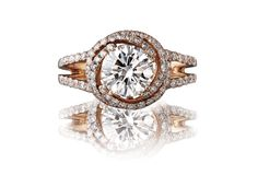 engagement ring, unique diamond ring, upgrade