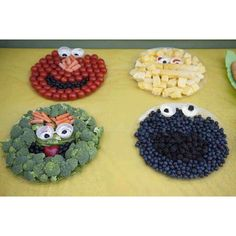 Making healthy foods fun for kids parties