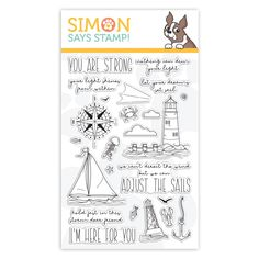 Simon Says Clear Stamps YOUR LIGHT sss101999 Rest and Refresh at Simon Says STAMP!