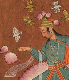 gopalekrishna: Kamala Ragaputra of Dipak Raga, Pahari, Chamba, gouache on paper, x Mughal Miniature Paintings, Mughal Paintings, Drugs Art, Indian Illustration, India Painting, Medieval, Smart Art, Krishna Art, Mural Art
