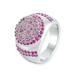 Astrona Crystal Ring  #ring, #swarovski  http://www.playbling.com/en/crystal-jewelry/astrona-crystal-ring-134.html