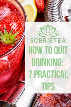 Do you want to cut back or give up alcohol but are not sure where to start? Learn how to quit drinking with these 7 practical tips. How To Quit Drinking, Quit Drinking Alcohol, Quitting Alcohol, Giving Up Alcohol, Alcohol Free, All You Need Is, Benefits Of Healthy Eating, Dry January, Sober Life