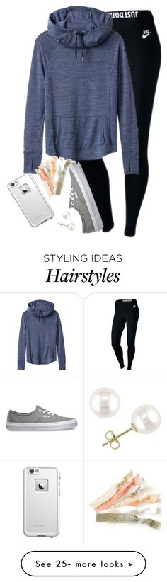 """""""I strongly dislike mrs. rutland:)))))"""" by elizabethannee on Polyvore featuring NIKE, Athleta, Vans, LifeProof and Miadora"""