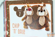 Chip & Dale Patterns - Classic Disney Crochet Patterns and Kit - 12 Characters! ad