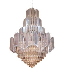 Large Lucite Chandlier Vintage Lighting Glorious Gallery Retrochicantique Online