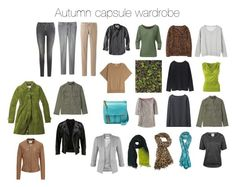 """""""Autumn capsule wardrobe"""" by lillyicity on Polyvore"""
