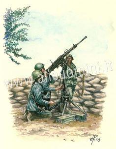 Regio Esercito Mitragliatrice FIAT