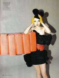 Angelika Kocheva by Marchelo Krasilcic for Elle Italy October-2009