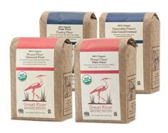 Great River Organic Milling Baker's Gift Set, 4 Pack, 5-Pound (totally 20-Pound) - http://goodvibeorganics.com/great-river-organic-milling-bakers-gift-set-4-pack-5-pound-totally-20-pound/