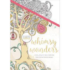 Amazon.com: Kaisercraft CL501 KaiserColour Coloring Book - Whimsy Wonders