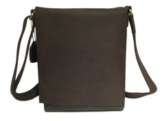 Brown Leather iPad Bag