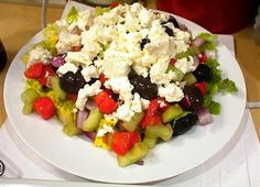 Shepherd's salad is so easy that I can't really call it a recipe, more an assembling.