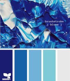 brushstroke blues