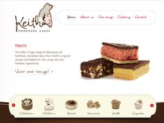 29 Bakery and Cake Shop Websites for Design Inspiration - DesignM. Bakery Website, Food Website, Nice Website, Web Design Examples, Design Web, Layout Design, Web Layout, Graphic Design, Cake Logo