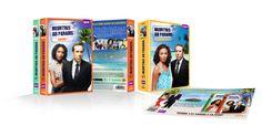 Meurtre au paradis, communication, print, creation, DVD