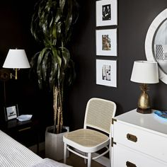 How to Blend Your Style With Your S.O's (and Actually Make It Work) #SOdomino #room #interiordesign #wall #furniture #bedroom #table #livingroom