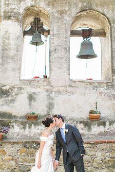 Spring Wedding at the Villa at San Juan Capistrano, Bride and Groom Portraits