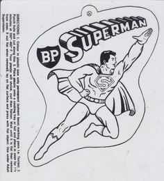 BP Superman oven shrinkie.