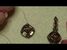 Dazzling Diamonds Earring Tutorial                                                                                                                                                                                 More