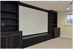 projection tv built in