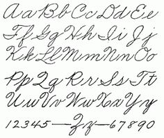 Teaching Cursive: Part 1 (of 25) –What NOT to Do!