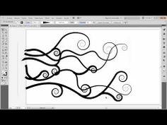 Formas organicas espirales   01:36 herramienta malla  04:20 crear simbolos  06:20 herramienta deformar