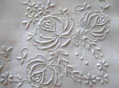 white work embroidery - Google 検索