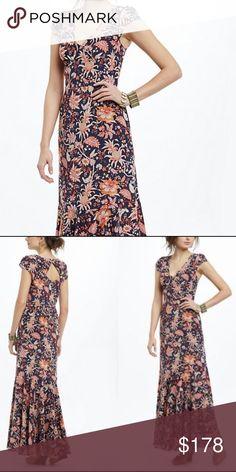 Anthropologie Leifsdottir Bruna Maxi worn 1x. beautiful. Anthropologie Dresses Maxi