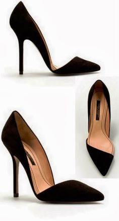 Gorgeous black high heel flats