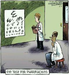 Eye Test for RPhs