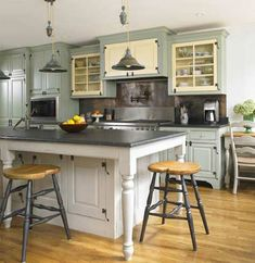 French Country Kitchen - great ideas for kitchen design.