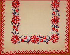 Mint országszerte általában, Szécsény környékén is a színes hímzést, a… Hungarian Embroidery, Folk Embroidery, Fabric Painting, Folk Art, Flower Art, Tattoos, Hungary, Patterns, Gallery