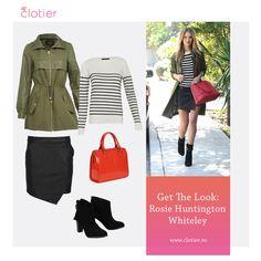 Rosie Huntington Whiteley, Get The Look, Campaign, Content, Medium, Board, Blog, Fashion, Moda