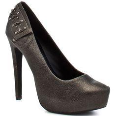 Jessica Simpson Faran Black Leather Heels #JessicaSimpson sexy as fu*k
