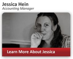 Learn how Accounting Manager Jessica Hein helps your inbound marketing program stay on track with on-time accounting and up-to-the-minute financials. #Accounting #Marketing #InboundMarketing