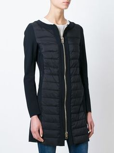 Herno padded panel coat