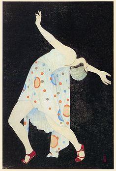 Deco Dance by Kobayakawa Kiyoshi  (1932)