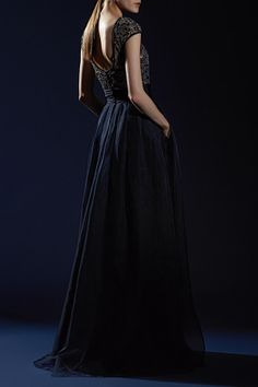 Ready for any evening occasion in this Theia gown!