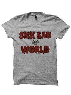 Sick Sad World T-shirt Tshirt Daria chemise des années par SHOPYELL