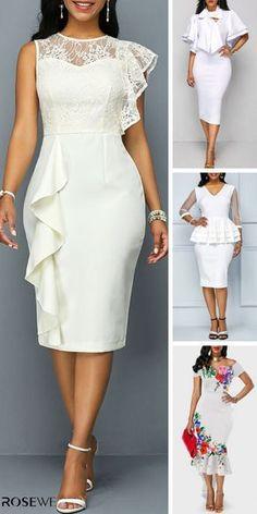 18 Ideas White Dress Party Classy Style For 2019 Elegant Dresses, Sexy Dresses, Pretty Dresses, Formal Dresses, Wedding Dresses, Wrap Dresses, Dresses Dresses, Mermaid Dresses, Beautiful Dresses