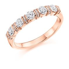 Diamond Weight: Diamond Cut: Round Brilliant Width: Diamond Coverage: Ref No: Eternity Rings, Round Bar, Bangles, Bracelets, 18k Rose Gold, Diamond Cuts, Grains, Gold Rings, Jewels