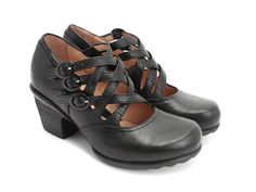 This is my first pair of Fluevogs and they are the most comfortable heeled shoe I've ever worn.