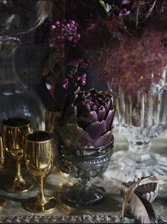 again i like the richness and old world feel of the deep purple with the gold. very rich, very warm. Lafe and I really like this picture as a whole in expressing the overall theme we are going for.