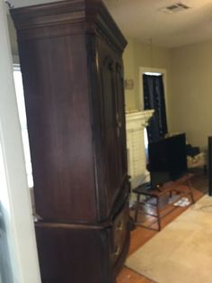 Armoire, Is A Set With The California King Bed ( Furniture ) In Tulsa, OK    OfferUp