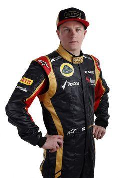 Kimi Räikkönen at Lotus F1 Team's E21 launch